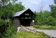 photo of New England covered bridge