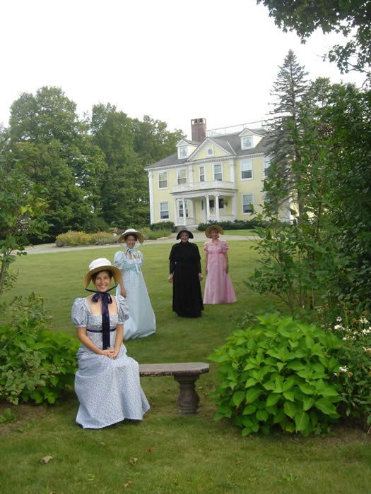 Jane Austen weekends at Vermont Bed and Breakfast