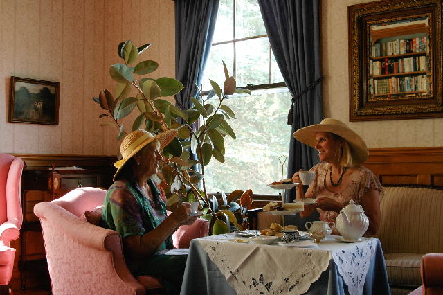 afternoon tea at The Governor's House
