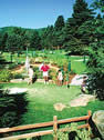 miniature golf in Stowe near Hyde Park, Vermont