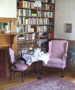 full English afternoon tea in our Vermont tea room in the library