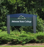 sign for Johnson State College