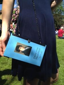 Pride and Prejudice book made into a purse