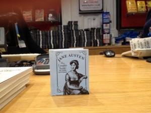 small book: Jane Austen