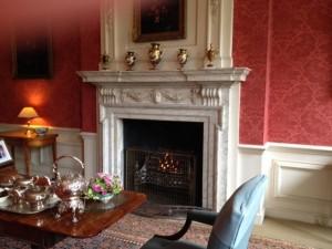 elaborate fireplace