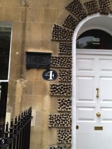door at Number 4, Sydney Place
