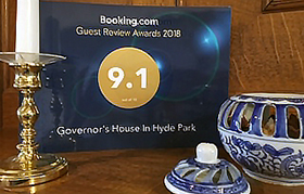 booking.com 9.1 rating
