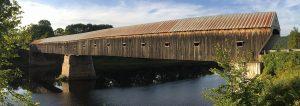 two-span covered bridge